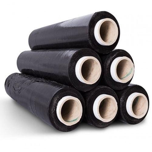 Pallet Wrap Black Blown (500mmx250m) 25mic roll