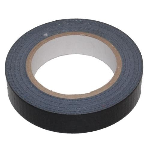 Water Resistant Gaffer Packing Tape Black  25mmx50m roll