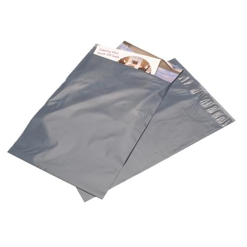 Mailing Bag Polythene Grey  (150x225mm) 1000/box