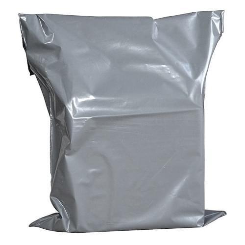 Mailing Bag Polythene Grey  (400x525mm) 500/box