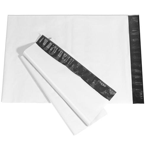 Mailing Bag White Polythene  (400x500+40mm) 500/box