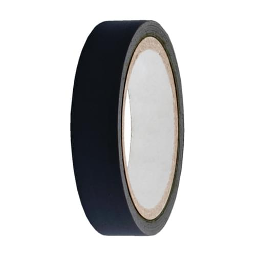 Black Low Tack Protection Tape  25mmx100m roll