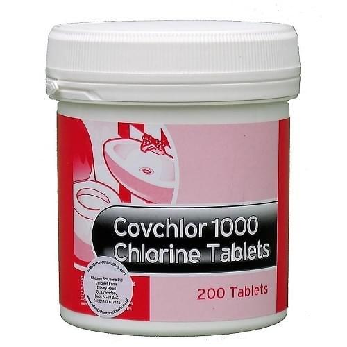 Chlorine Tablet 200/tub