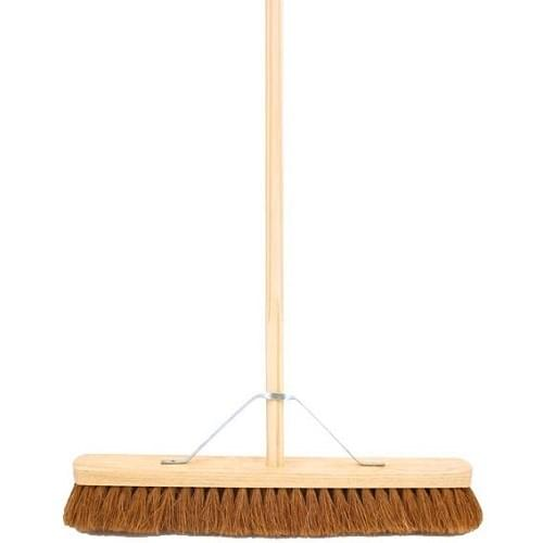 Coco Fibre Indoor Broom  24""