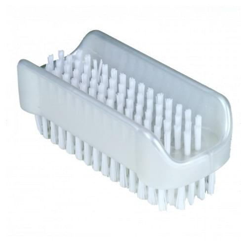 Plastic Nail Brush with Nylon Fibres
