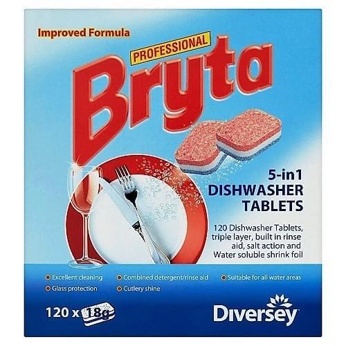 Bryta Dishwasher Tablets 5-in 1