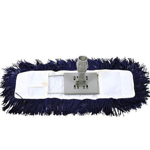 Dust Control Sweeper Head Blue  24