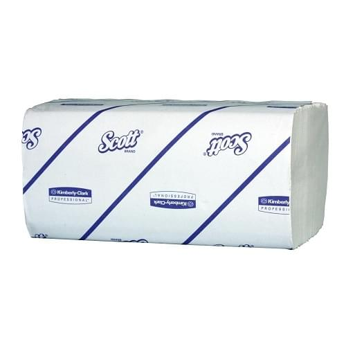 Kimberley Clark KC6663 Handtowel Interfold 1 Ply White