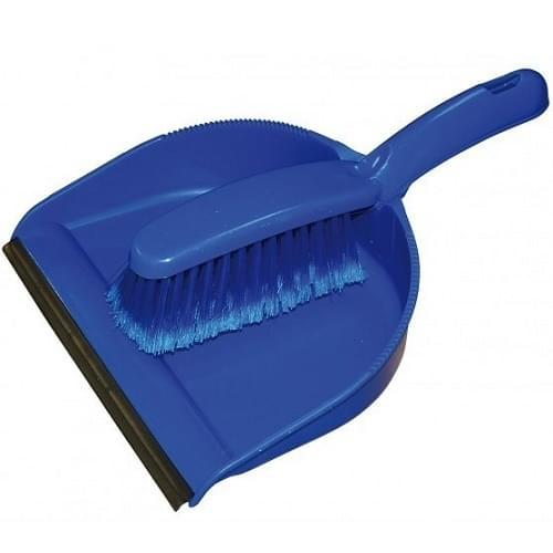 Dustpan and Brush Set Open Plastic