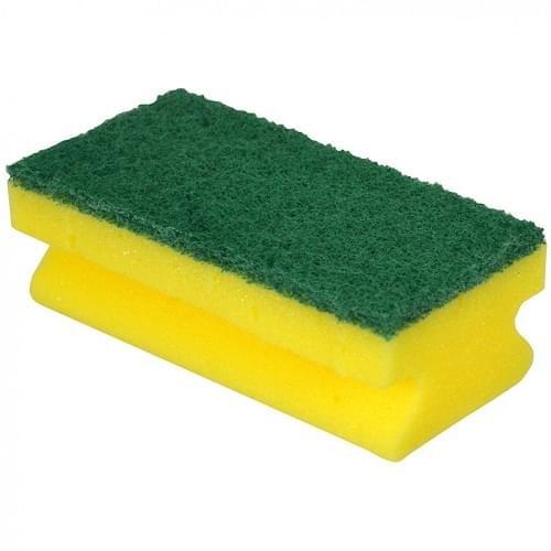 Contract Grip Sponge Scourer  10/pack