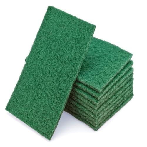 Contract Green H/Duty Scouring Pad  230x150mm  10/pack