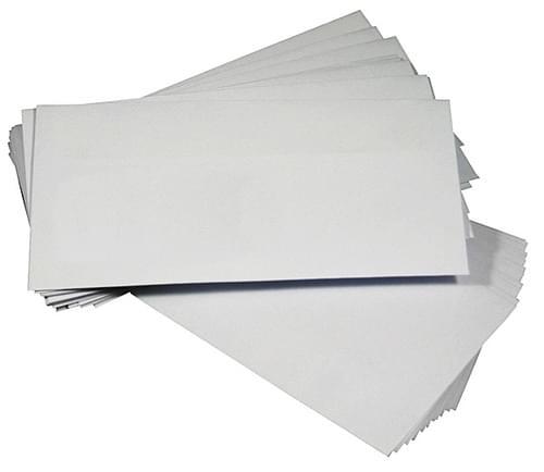 Envelope DL 110x220mm White Self Seal 90gsm Box 1000