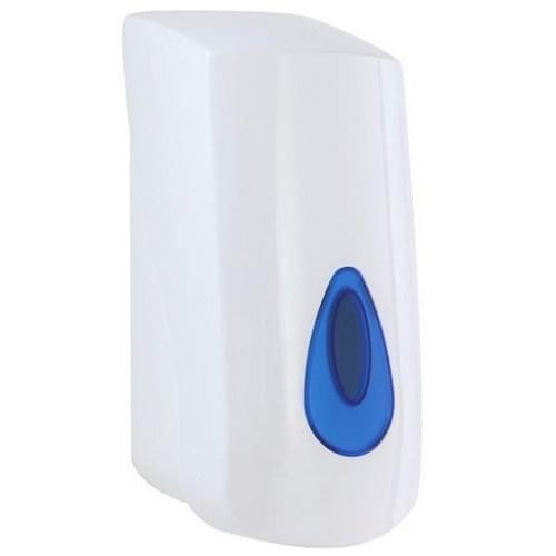 Plastic Bulk Fill White Dispenser  900ml