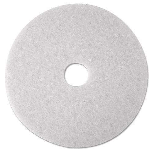 """Burnishing Floor Pad White  20""""  5/pack"""