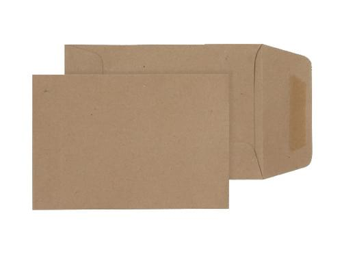 Manilla 229x102 gummed envelope 80gsm bx1000