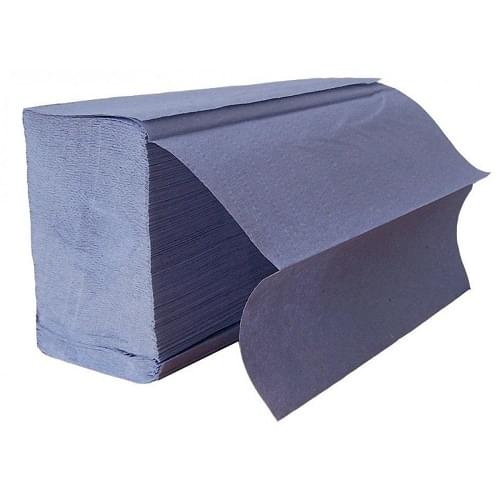 Contract Handtowel Z-Fold 1 ply Blue  233x240mm
