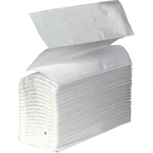 Contract Handtowel Z-Fold 1ply White  240x220mm
