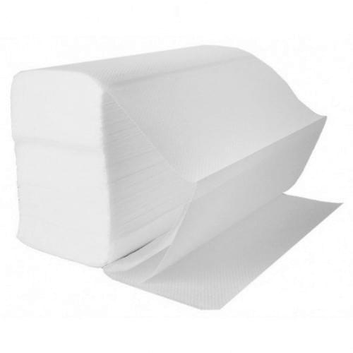 Z-Fold Hand Towels 2 ply White (240x240mm) 3000/box