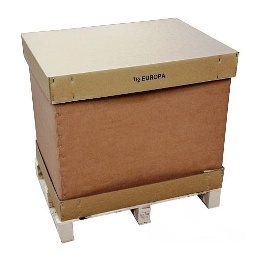 Half Europa Carton Pallet Box (770x570x660mm)