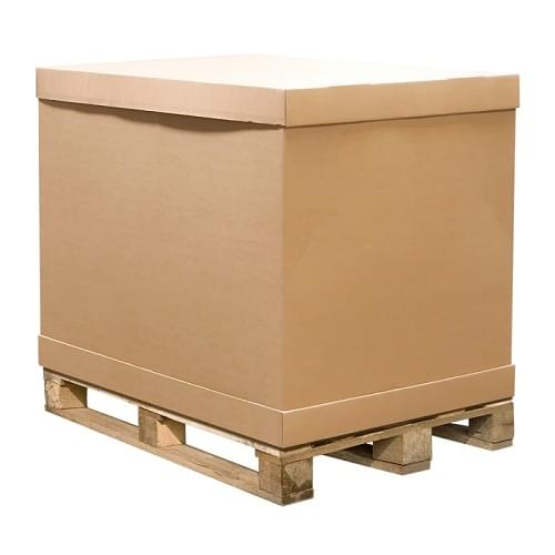 1/2 Half Carton Pallet Box Container (1070x870x550mm)