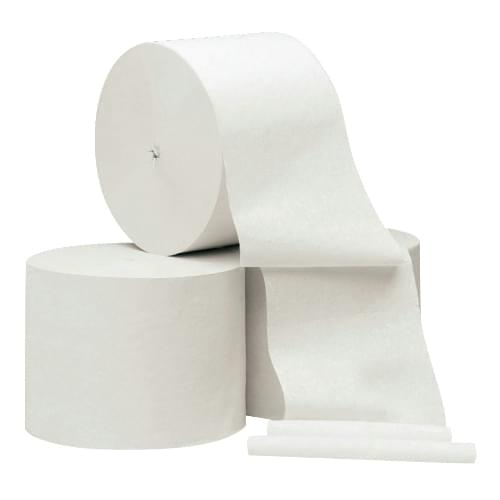 Coreless Toilet Paper 2 Ply Roll  98mmx95m  36/pack