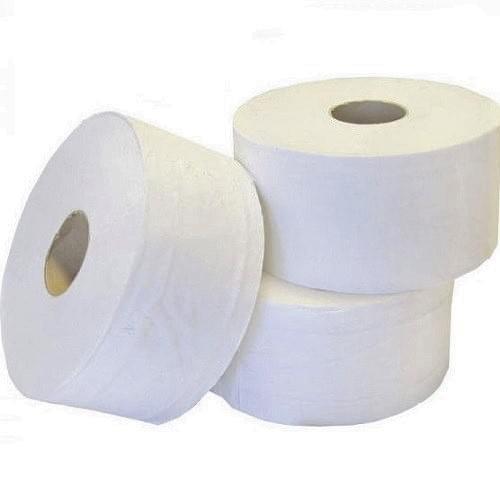 Mini Jumbo 2 Ply Toilet Rolls 60mm Core 12/pack
