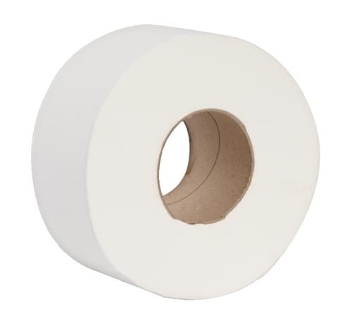 Mini Jumbo 2 Ply Toilet Rolls 76mm Core 12/pack