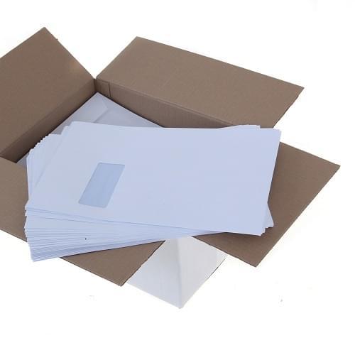 C4 Window Envelopes 120GSM Box 250