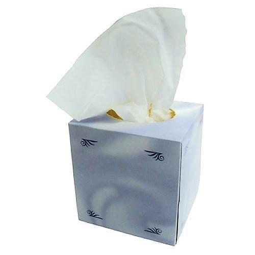Tissues Cube Box  100/box