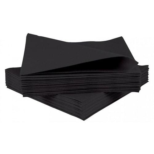 Napkin Black 2 Ply 25cm Box 2000
