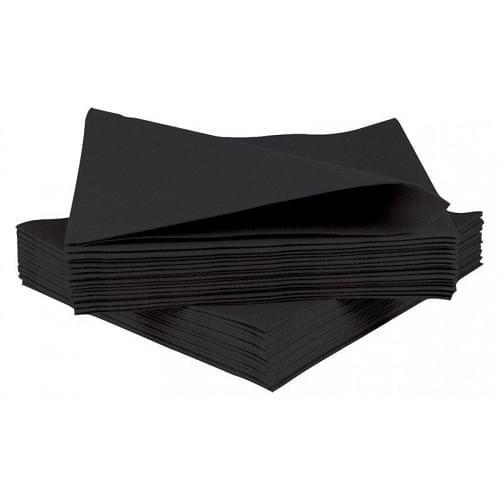 Napkin Black 2 Ply 25cm Box 2000