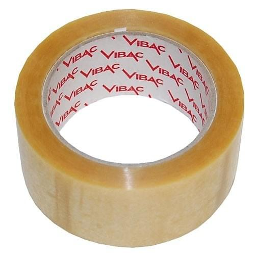 Vibac Clear Vinyl 700 Packing Tape  48mmx66m roll