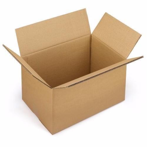 "Double Wall Brown Cardboard Box  18x18x20"" (455x455x500mm)"