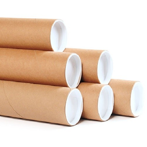 Kraft Postal Tubes With Fitted End Caps A2 (50x450x1.5mm) 25/box