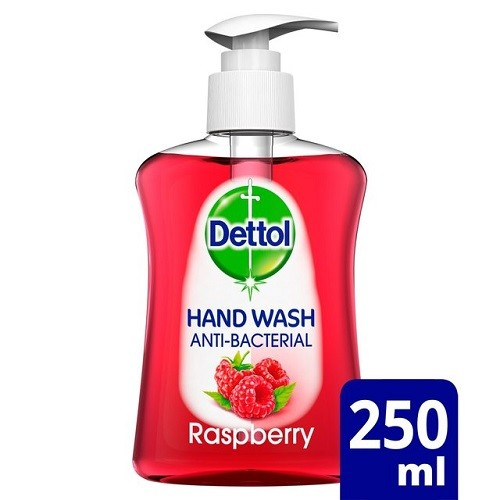 Dettol Hand Soap Anti Bacterial  250ml Case of 6