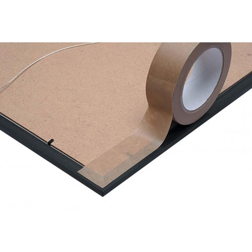 Tape Kraft Paper Self Adhesive 50mm x 66m Roll