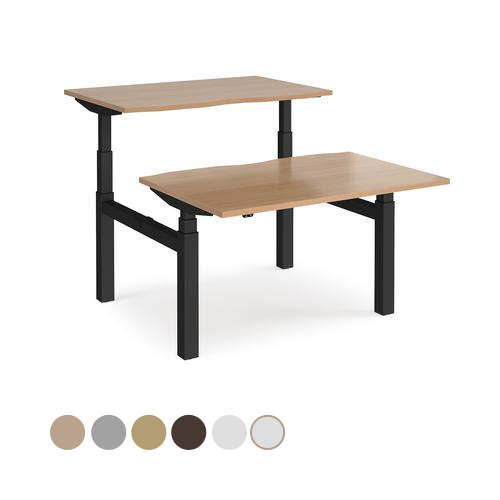 Elev8 Touch sit-stand back-to-back desks