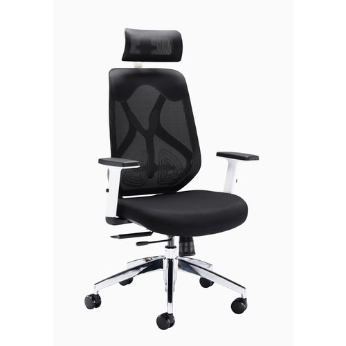 Abbracio High Back Office Chair - Black
