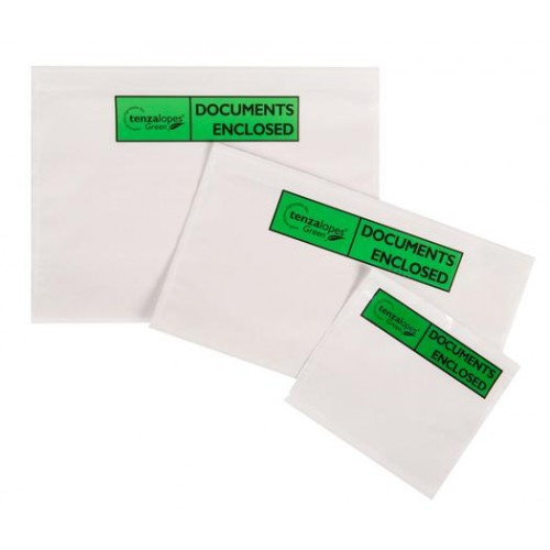 A4 Biodegradable Documents Enclosed Paper Wallets Box/500