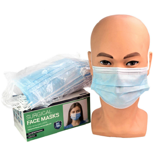Face Mask TYPE IIR Blue - Box 50