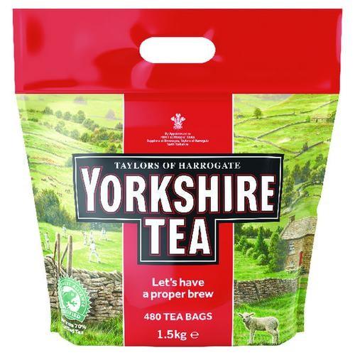 Yorkshire Tea Soft Water Tea Bags (Pack of 480)