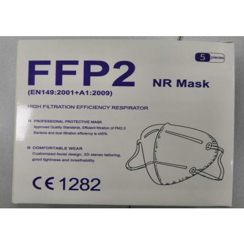 KN95 Protective Face Mask PPE Pack of 5