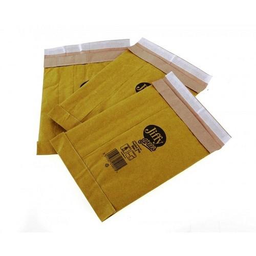 "PB2 Jiffy Padded Gold Postal Bag Size 2 195x280mm (7.7x11"")  100/box"
