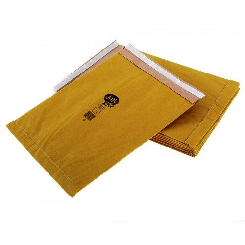 "PB7 Jiffy Padded Gold Postal Bag Size 7 341x383mm (13.4x15.1"") 50/box"
