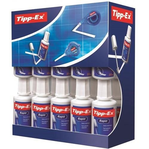 Tipp-Ex Rapid Correction Fluid (Pack of 20)