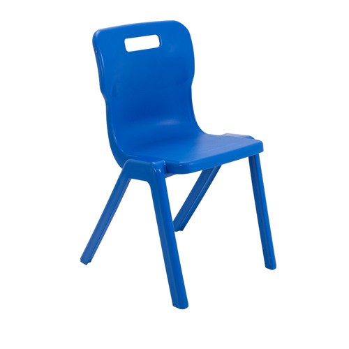 Titan One Piece Chair Antibacterial   Various Size Options   Classroom Chairs