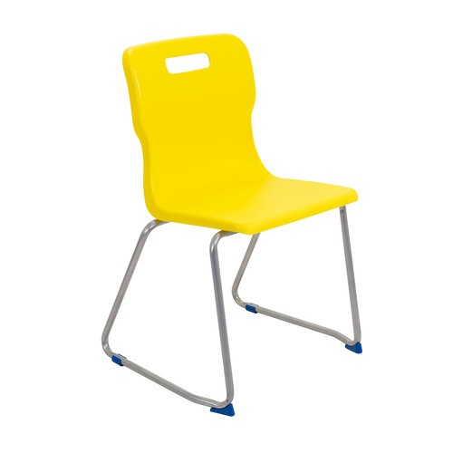 Titan Skid Base Chair   Size & Colour Options   Classroom Chairs