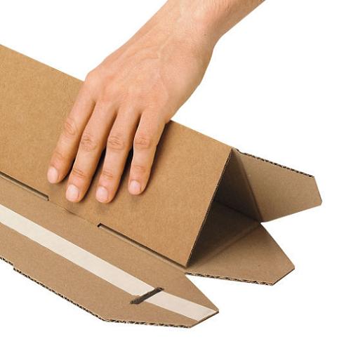 Triangular Postal Tube (750x128x75mm) 25/pack