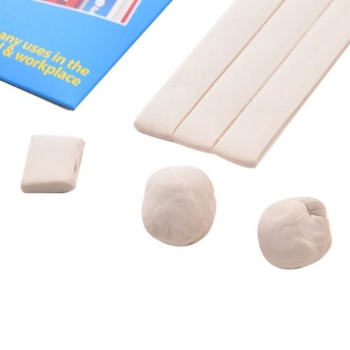 Sticky Reusable Adhesive Tack 50g - White