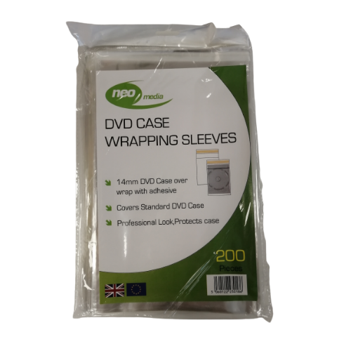 DVD Case (155mm x 192mm) Pack of 200